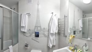 Ванная комната в Отель Волга