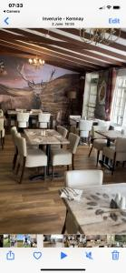 A restaurant or other place to eat at Bennachie Lodge Hotel