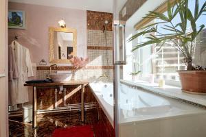 Ванная комната в SPA-отель Тригорская 1