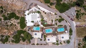 A bird's-eye view of Spilia Bay Villas