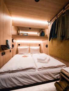 Ein Bett oder Betten in einem Zimmer der Unterkunft CAB20