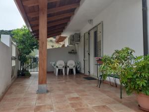 A balcony or terrace at Casa Vacanza Atlantide