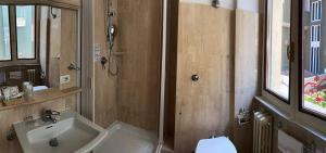 A bathroom at Hotel Argentina & SPA