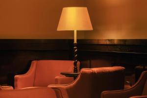 A seating area at Hotel la Ponche