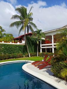 The swimming pool at or near HC Liri Hotel