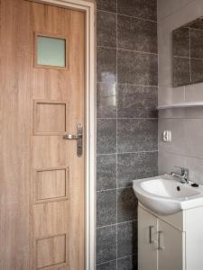 Łazienka w obiekcie Ośrodek wypoczynkowy - Wczasy w Cichowie
