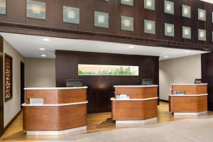 The lobby or reception area at Courtyard by Marriott Minneapolis Downtown