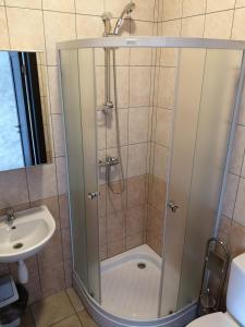 A bathroom at Pas Nerijų