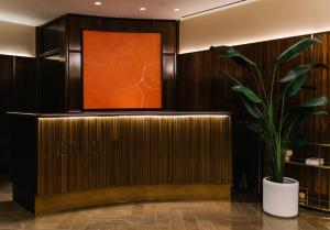 The lobby or reception area at Iroquois New York Times Square