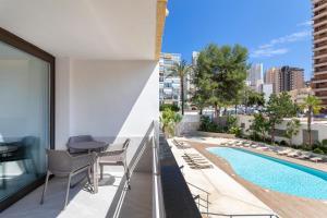 Балкон или терраса в Halley Hotel & Apartments Affiliated by Meliá