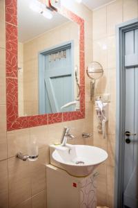 A bathroom at Trapela Boutique Hotel