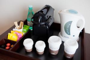 Coffee and tea-making facilities at Rio Othon Palace
