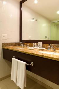 A bathroom at Rio Othon Palace
