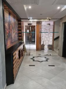 The lobby or reception area at Hotel Tunisie Confort