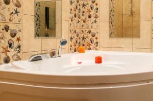 Ванная комната в Гостиница Африка