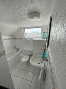 A bathroom at The Sandhaven