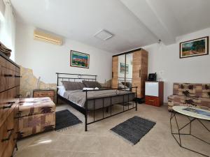 Area soggiorno di Bed and Breakfast Villa Klaic