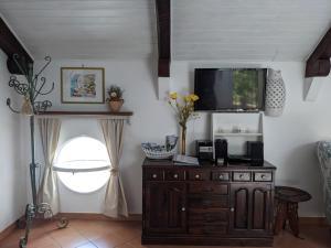 TV o dispositivi per l'intrattenimento presso Casa Giovanna Positano