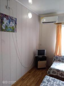 A television and/or entertainment center at Guest House Elena