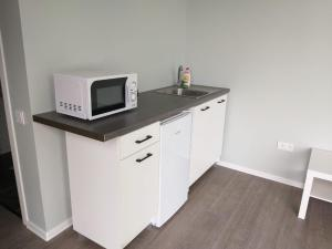 A kitchen or kitchenette at Atpūtas vieta Ežezers