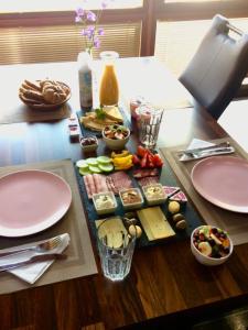 Možnosti raňajok pre hostí v ubytovaní Grand Spa Holiday Home