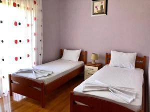 Letto o letti in una camera di Villa Erdeti Studio & Apartment