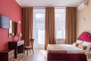Кровать или кровати в номере Дом Князя