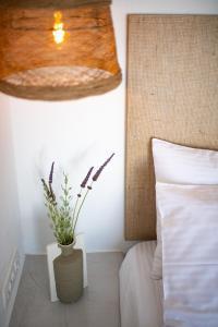 Un ou plusieurs lits dans un hébergement de l'établissement Blu Rooms