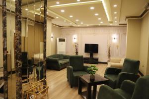Lounge oder Bar in der Unterkunft Buldum Otel