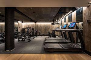 The fitness center and/or fitness facilities at Radisson Blu Edwardian Bloomsbury Street Hotel, London