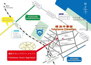 A bird's-eye view of Yokohama Classic Apartment