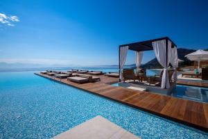 The swimming pool at or near Angsana Corfu Resort & Spa