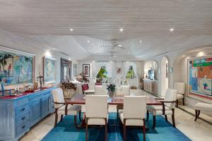 A restaurant or other place to eat at Old Trees 002 by Barbados Sotheby's International Realty