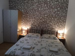 A bed or beds in a room at Country House Peace