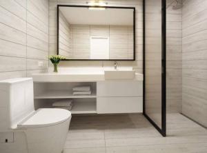 A bathroom at Loft in Barranco Best Location All Amenities