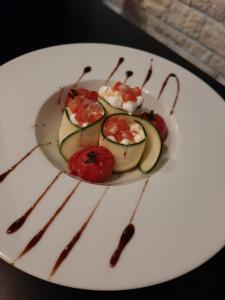 Nourriture dans l'hôtel ou à proximité