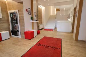 Hall o reception di Hotel Gran Sasso & SPA