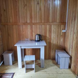 Телевизор и/или развлекательный центр в Гостевой дом Удачный