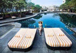 The swimming pool at or near InterContinental Hanoi Westlake, an IHG Hotel