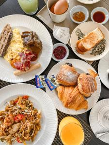 Breakfast options available to guests at The Danna Langkawi
