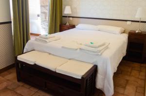 Cama o camas de una habitación en Casa del Cura