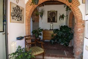 Hall ou réception de l'établissement Villa Gioietta