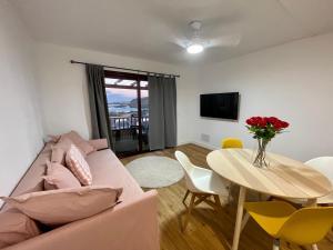A seating area at Fabuloso apartamento en Los Cancajos