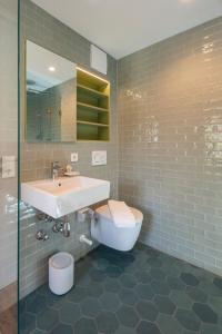 Ein Badezimmer in der Unterkunft pradl elf my- apartment