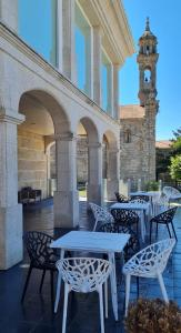 Un restaurante o sitio para comer en Hotel Boutique La Churra