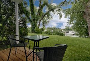 Сад в Auberge Handfield et Spa