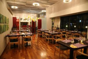 A restaurant or other place to eat at Altius Boutique Hotel