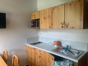 A kitchen or kitchenette at B&B Zlatá stezka