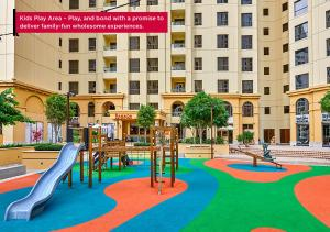 The swimming pool at or near Ramada Hotel and Suites by Wyndham Dubai JBR