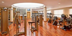 The fitness center and/or fitness facilities at InterContinental Jordan, an IHG Hotel